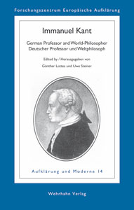 Immanuel Kant<br>German Professor and World-Philosopher / Deutscher Professor und Weltphilosoph